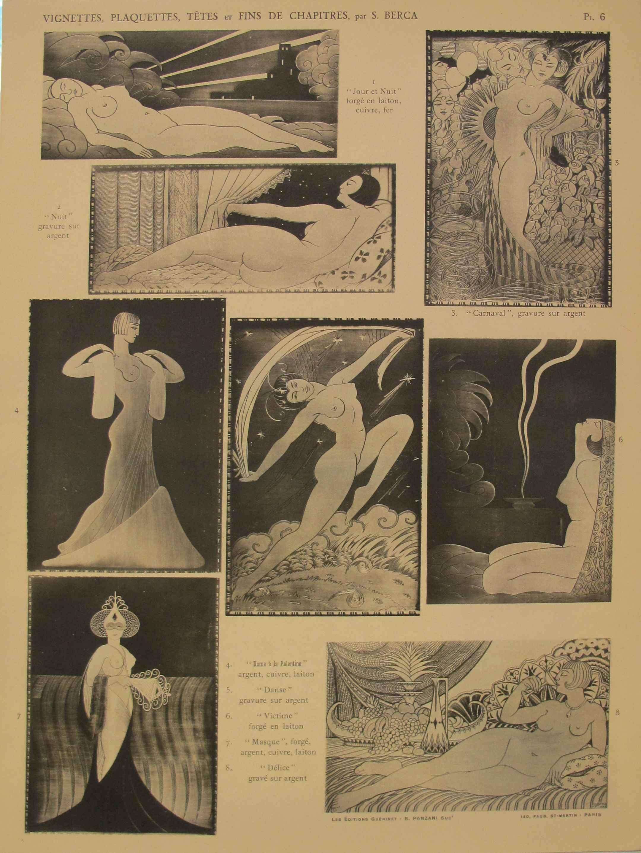 Vignettes,  Plaquette... by  S. Berca - Masterpiece Online