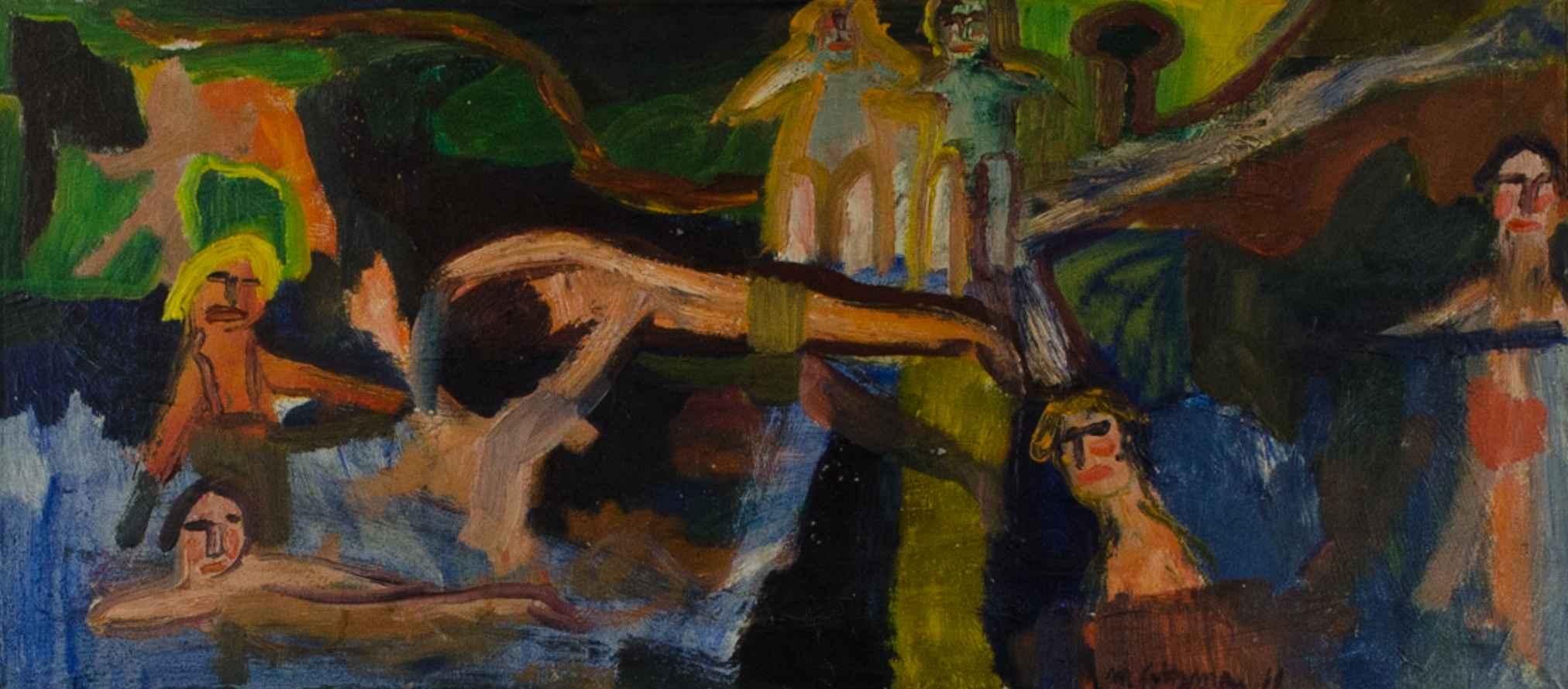 PRE-NORTH CAROLINA 19... by  Marvin Saltzman - Masterpiece Online