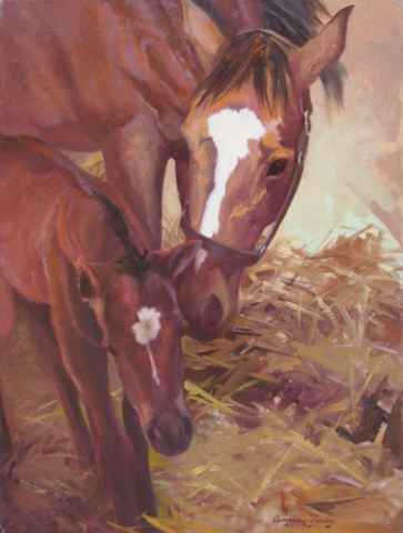 The Mother's Love by  Carolyne Hawley - Masterpiece Online