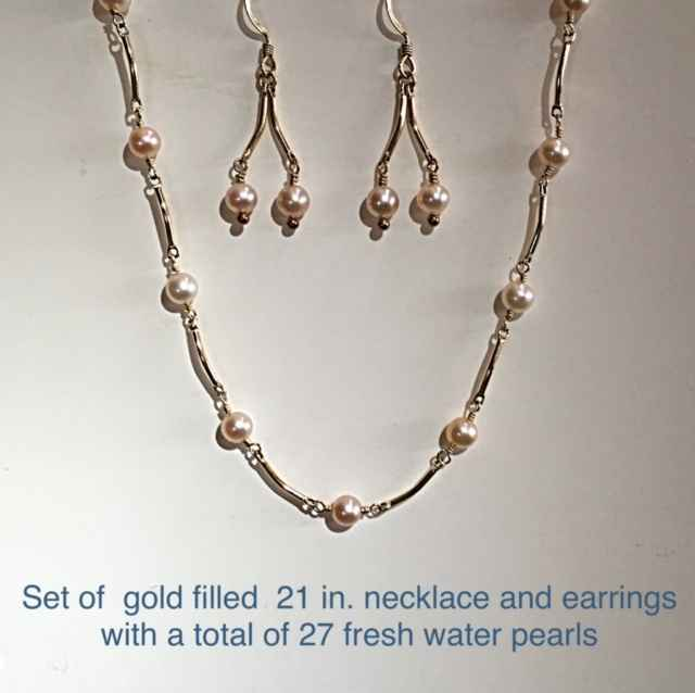 Gold Filled Necklace ... by Mrs. Lana McMahon - Masterpiece Online