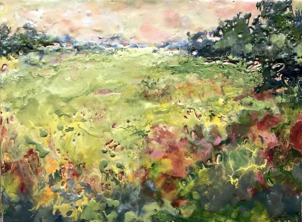 A Colourful Corner by  Kathy Bradshaw - Masterpiece Online