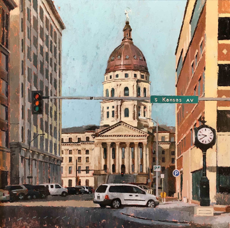 Capitol View by  Pat Abellon - Masterpiece Online