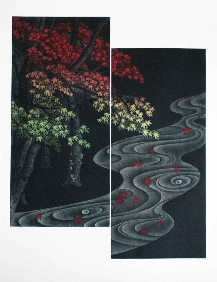 Gradation Leaves by  Katsunori Hamanishi - Masterpiece Online