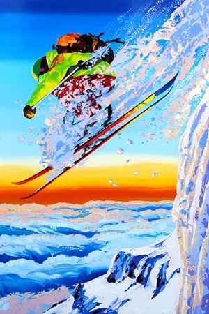 Mountain Rocket 181939 by  Steve Tracy - Masterpiece Online