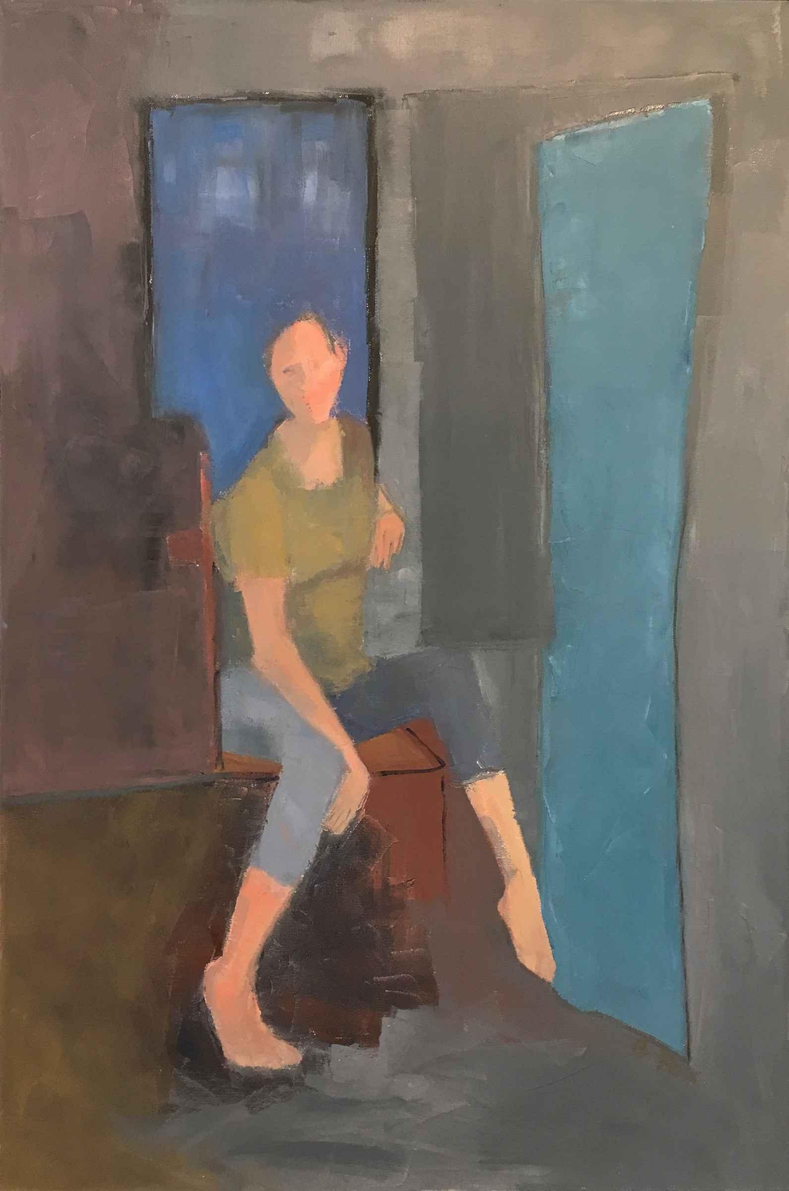 Blue Window by  Brenda Fox - Masterpiece Online