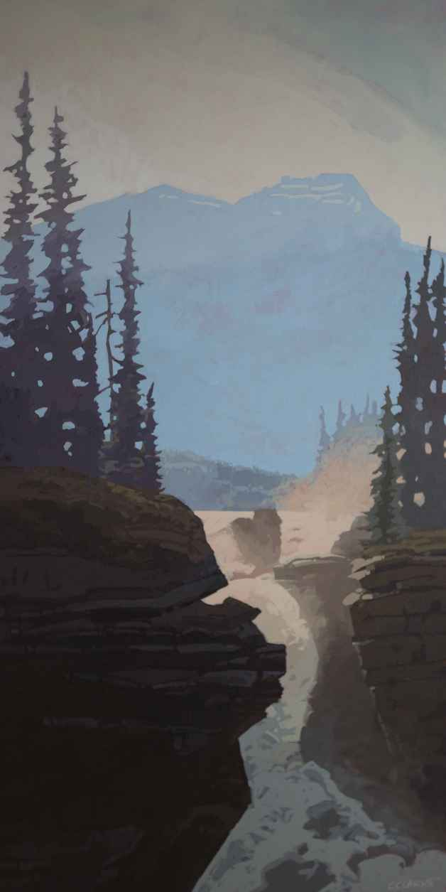 Canyon in Evening Sha... by  Christina Clarke - Masterpiece Online