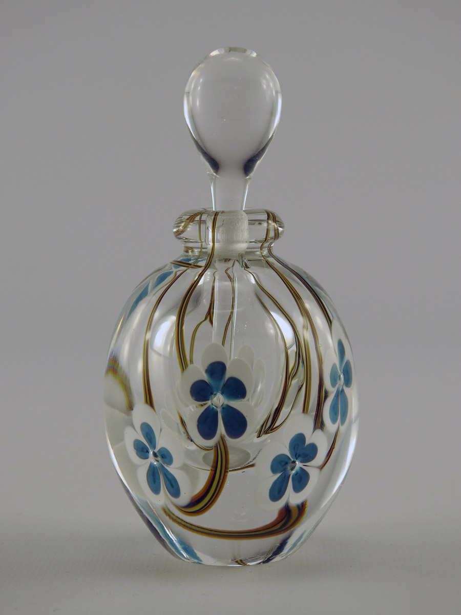 Perfume/Blue & White ... by  Roger Gandelman - Masterpiece Online