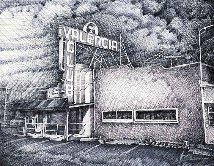 Valencia  by  Chet Smith Jr.