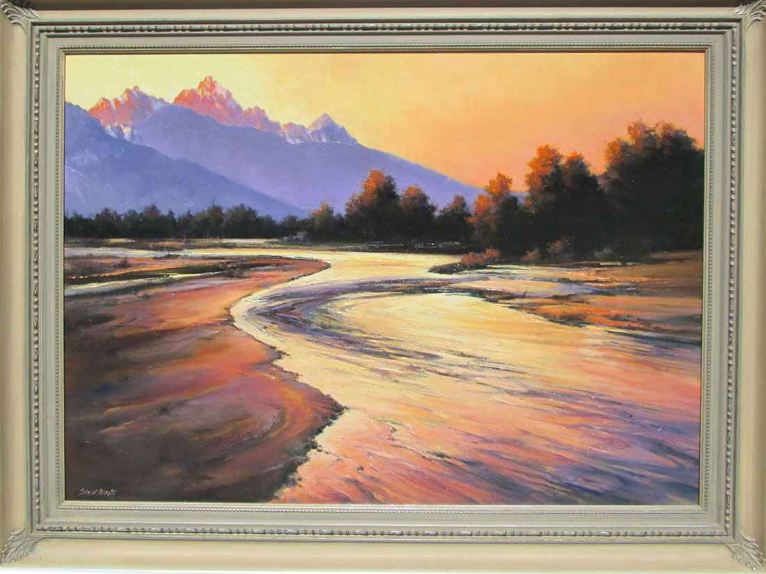 Snake River Sunset by  David Marty - Masterpiece Online