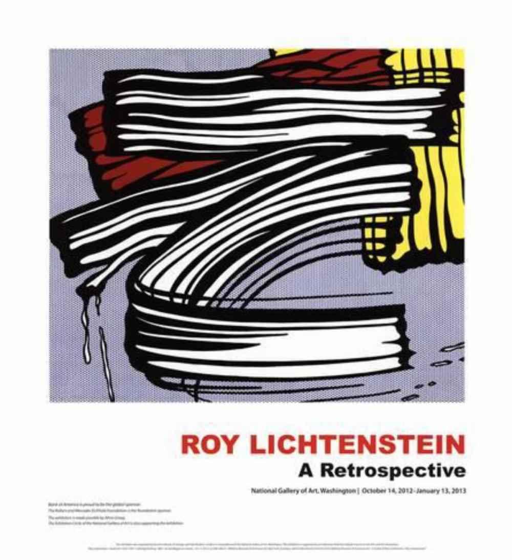 Little Big Painting -... by  Roy Lichtenstein - Masterpiece Online