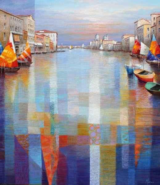 Canal Vista represented by  by  Gabriella Mariani