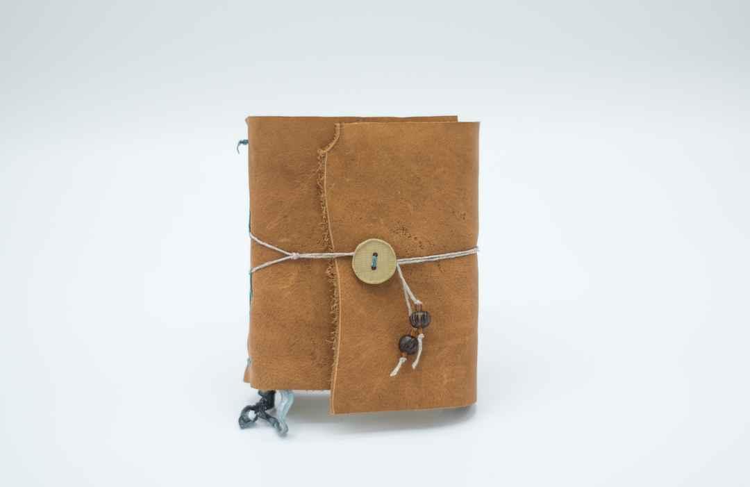 5x4 Tan Leather Journ...  by  Jeff Becker 369
