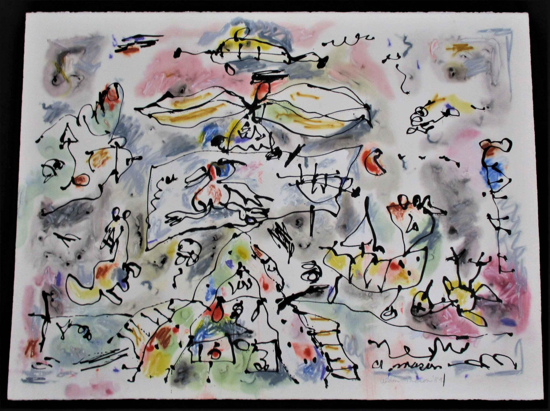 Untitled ( Birds and ... by  Alden Mason - Masterpiece Online