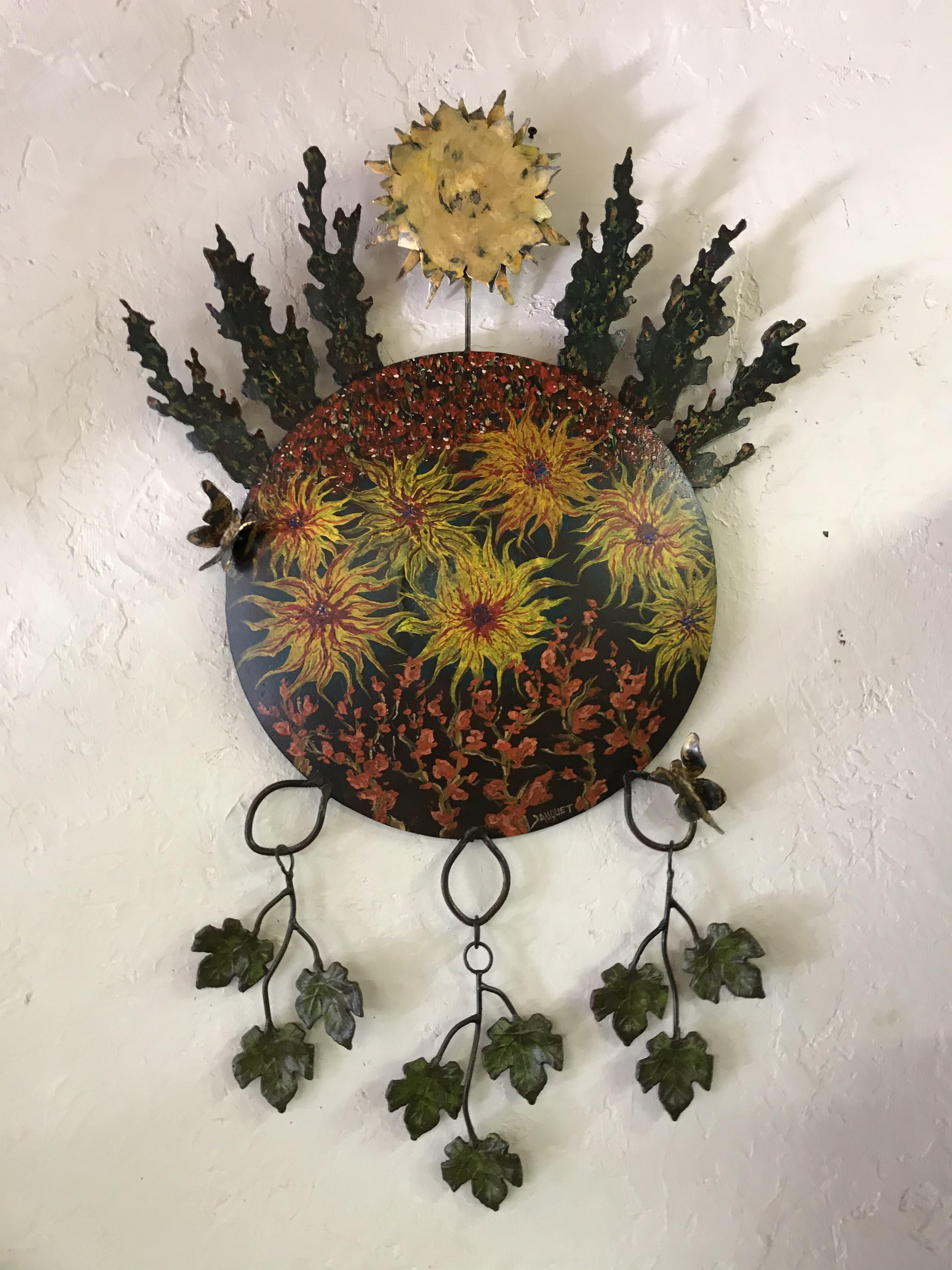 Flowers on Steel#2
