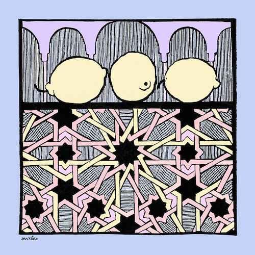 Alhambra Lemons Large... by  Melissa Hefferlin - Masterpiece Online