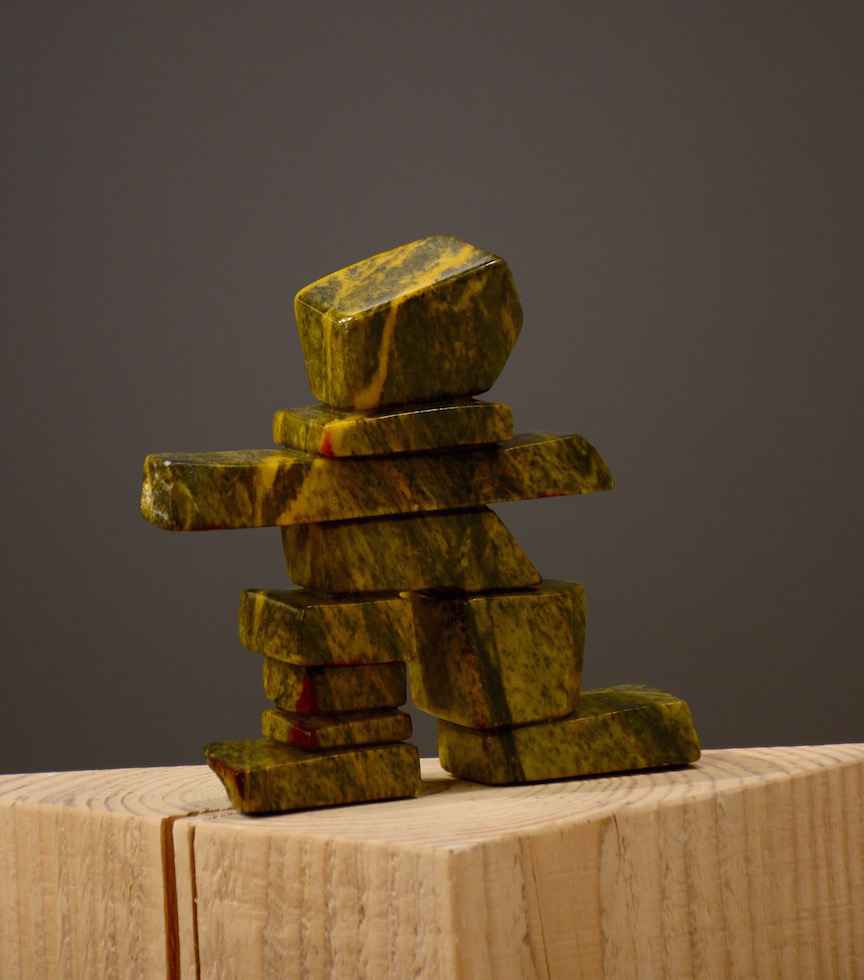 Amber the Inukshuk by  Barb Janman - Masterpiece Online