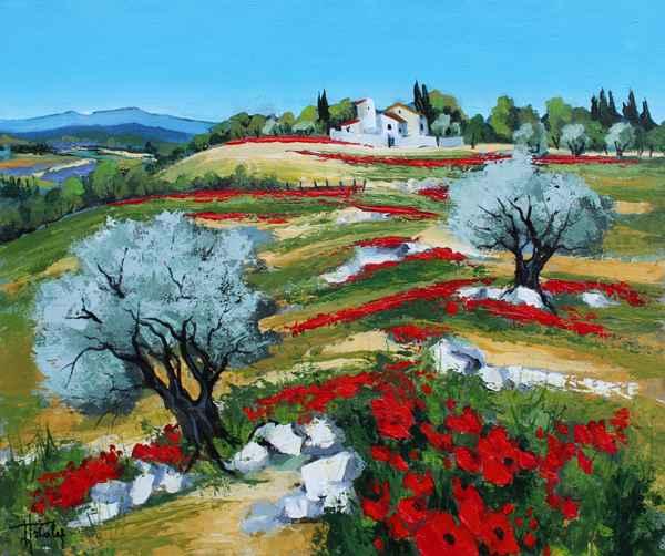 Alpilles en Fleurs by   Triolet  - Masterpiece Online