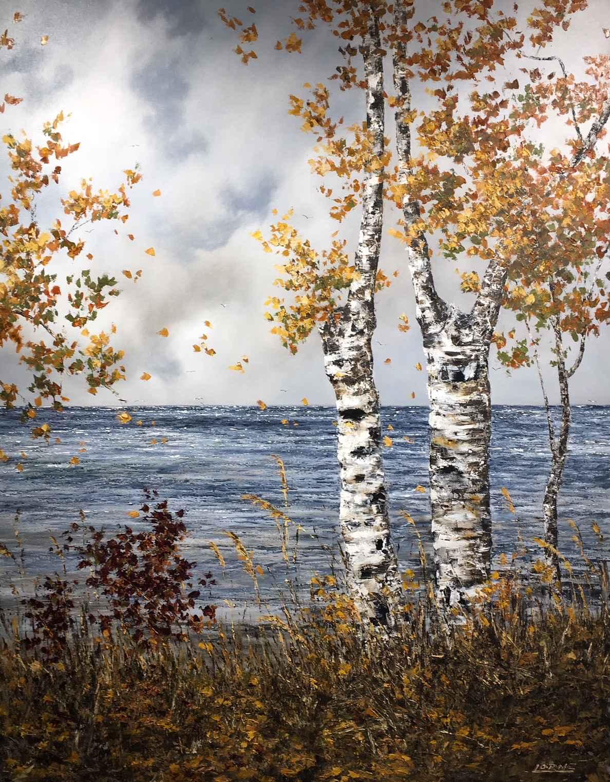 Windy Shores by Mr. Lorne McDermott - Masterpiece Online