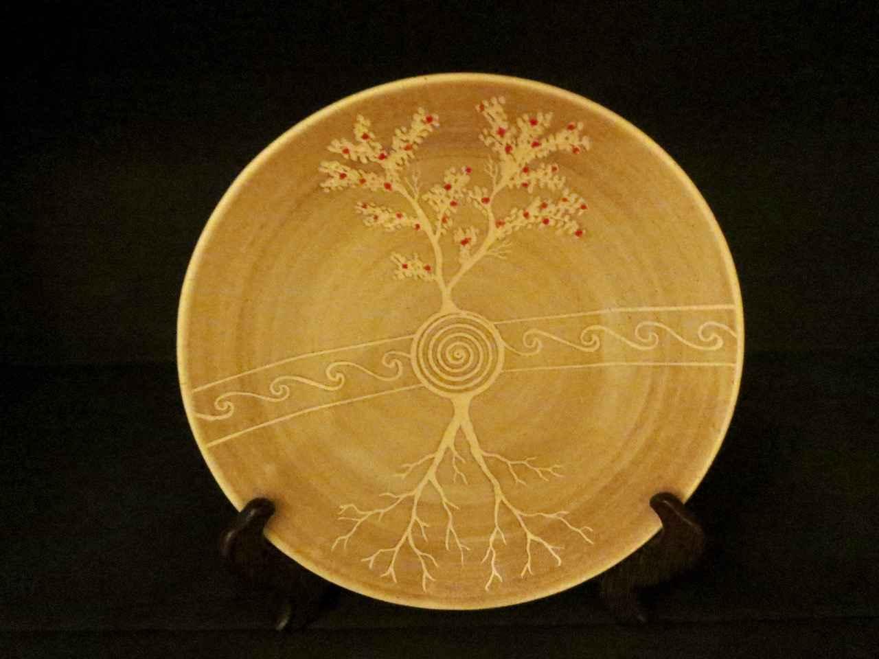 Carved Bare Ohia Tree... by Ms. Birgitta Frazier - Masterpiece Online