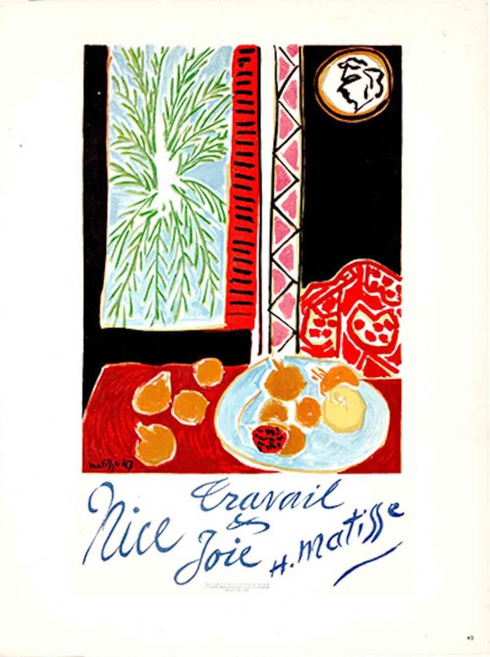 Travail & Joie, Nice ... by  Henri Matisse - Masterpiece Online