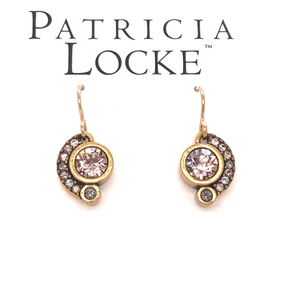Ava Earrings in Gold, Champagne