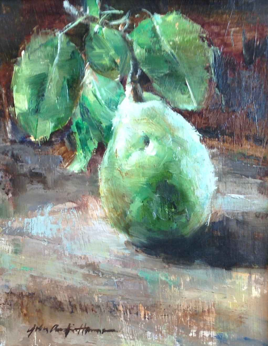 Dimpled Pear by  John Austin Hanna - Masterpiece Online