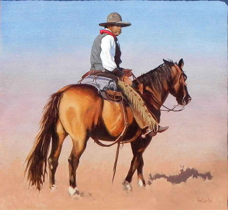 Red River Cowboy by  Tony Eubanks - Masterpiece Online