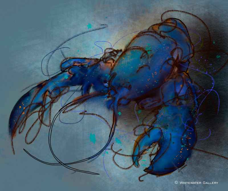 Blue Lobster Placemat by   Placemats & Coasters - Masterpiece Online