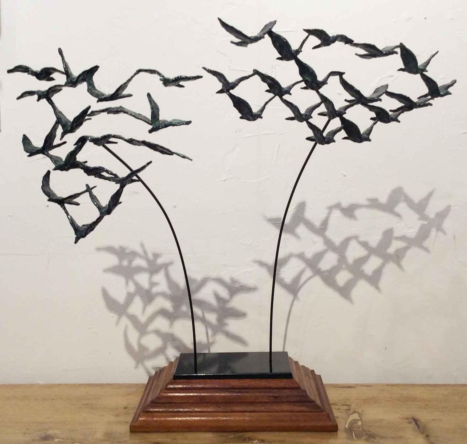 Two Flocks by  Don Wilks - Masterpiece Online
