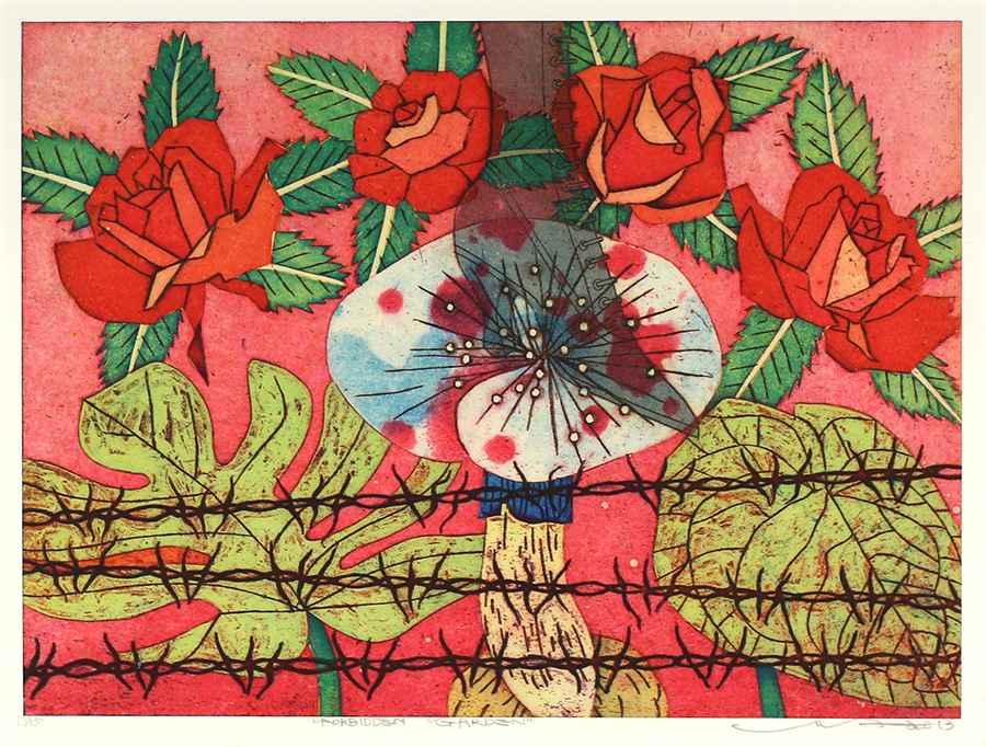 Forbidden Garden by  Yuji Hiratsuka - Masterpiece Online