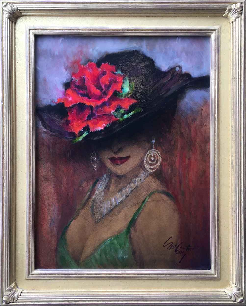 Rose by  Ray McCarty 1934-2018 - Masterpiece Online