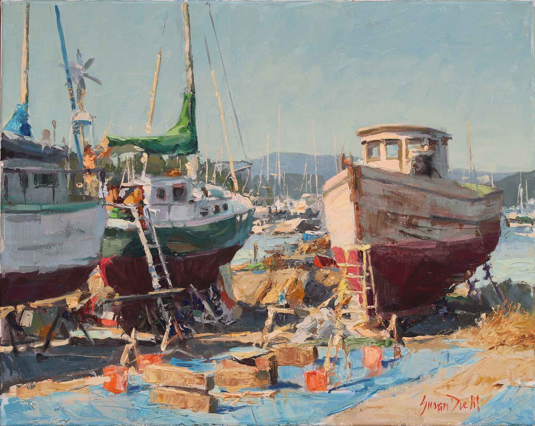 From Bow to Stern by  Susan Diehl - Masterpiece Online