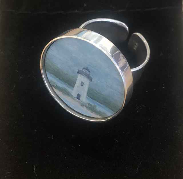 #305 Ring - Lighthouse by  Nell Mercier - Masterpiece Online