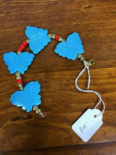 Turquoise/Faceted Swa... by Mrs Larissa Hale - Masterpiece Online