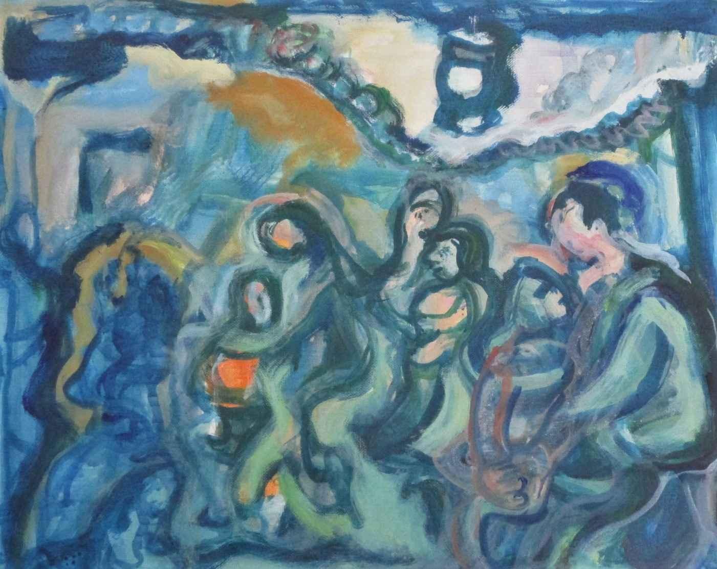 Unknown ( Dancehall) by  Louis Lazzare Schaff - Masterpiece Online