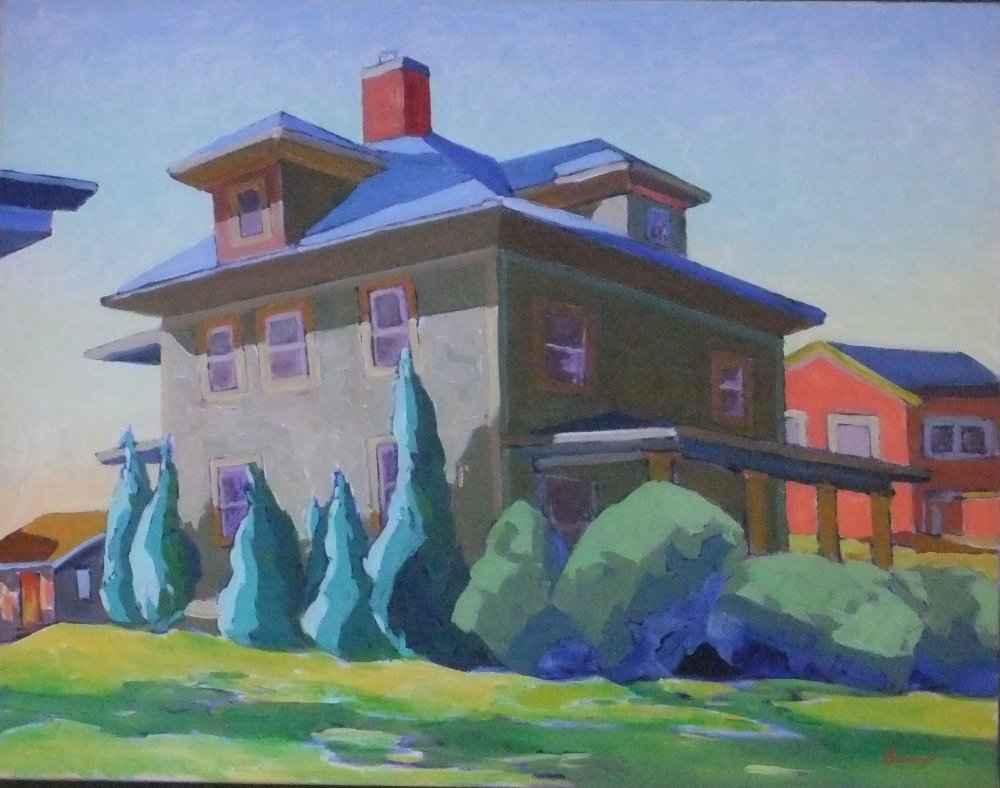 106 Lathrop St. II, M... by  Chuck Bauer - Masterpiece Online