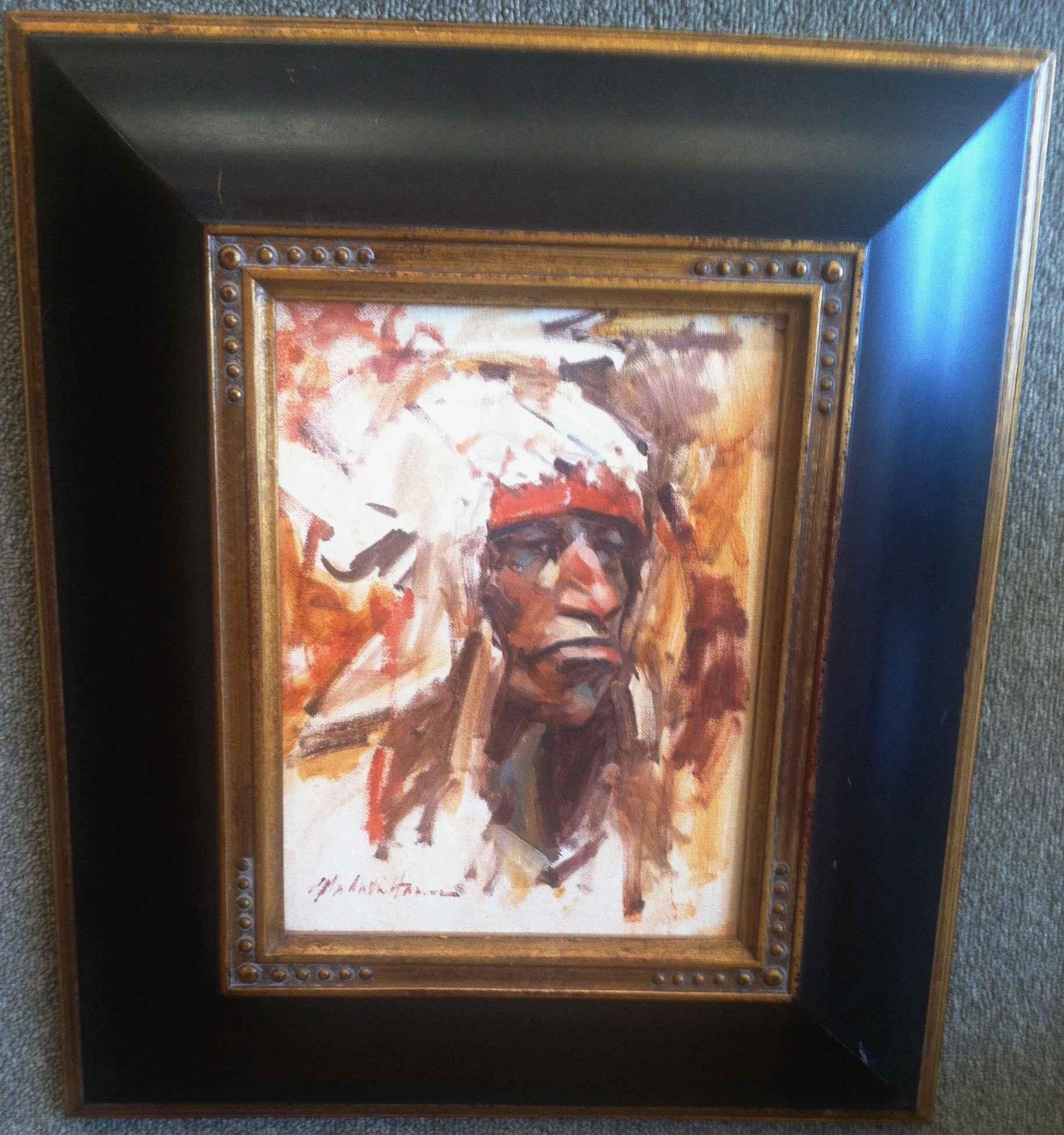 Indian Sketch by  John Austin Hanna - Masterpiece Online