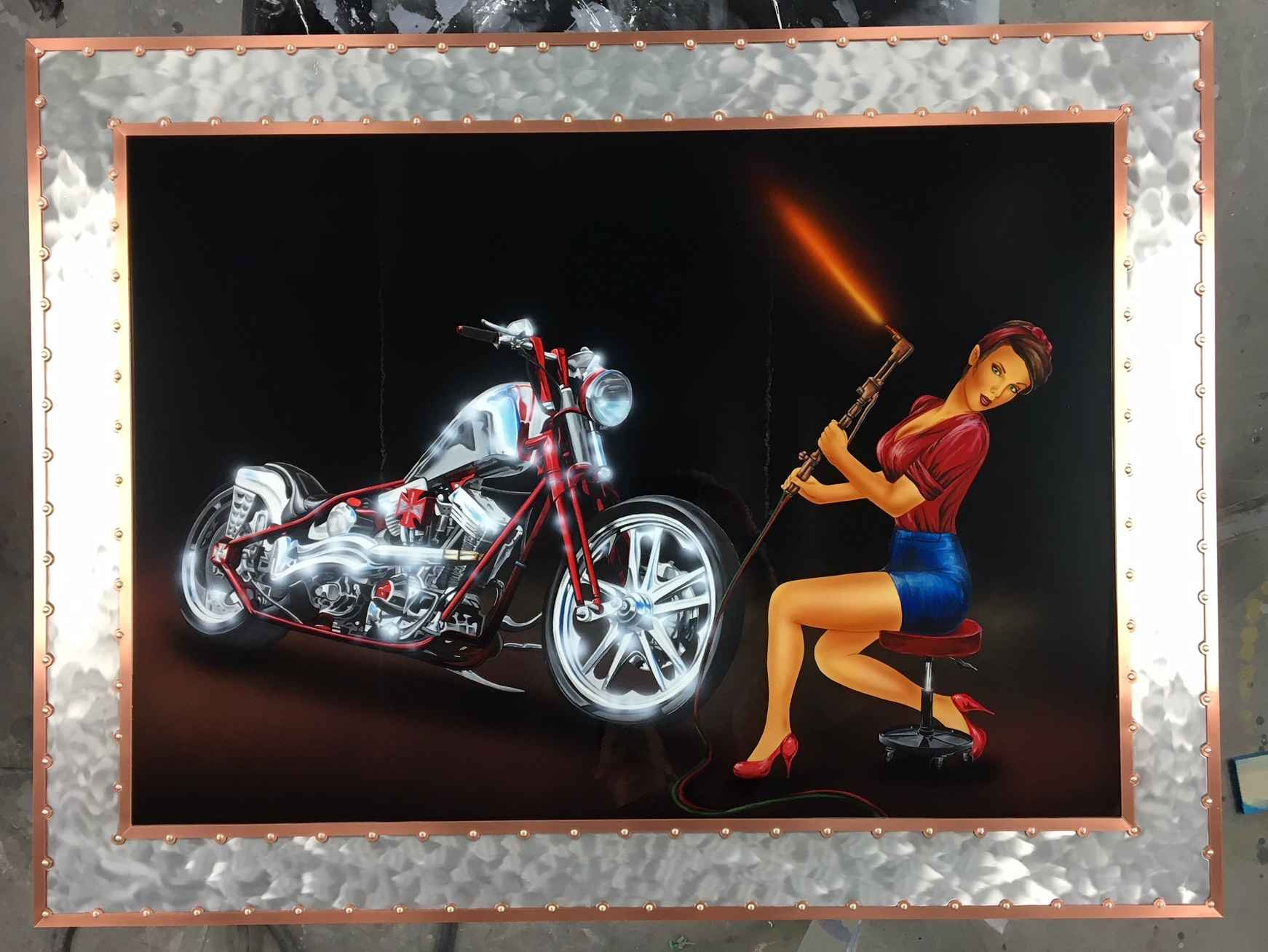 Jessie- Chopper Girl ... by  Cris Woloszak - Masterpiece Online