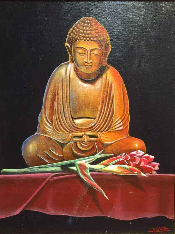 Buddha With Ginger  by  Matthew Smith - Masterpiece Online