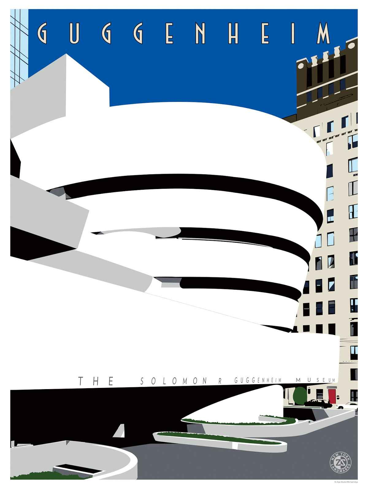 Guggenheim  by  Michael Ziga