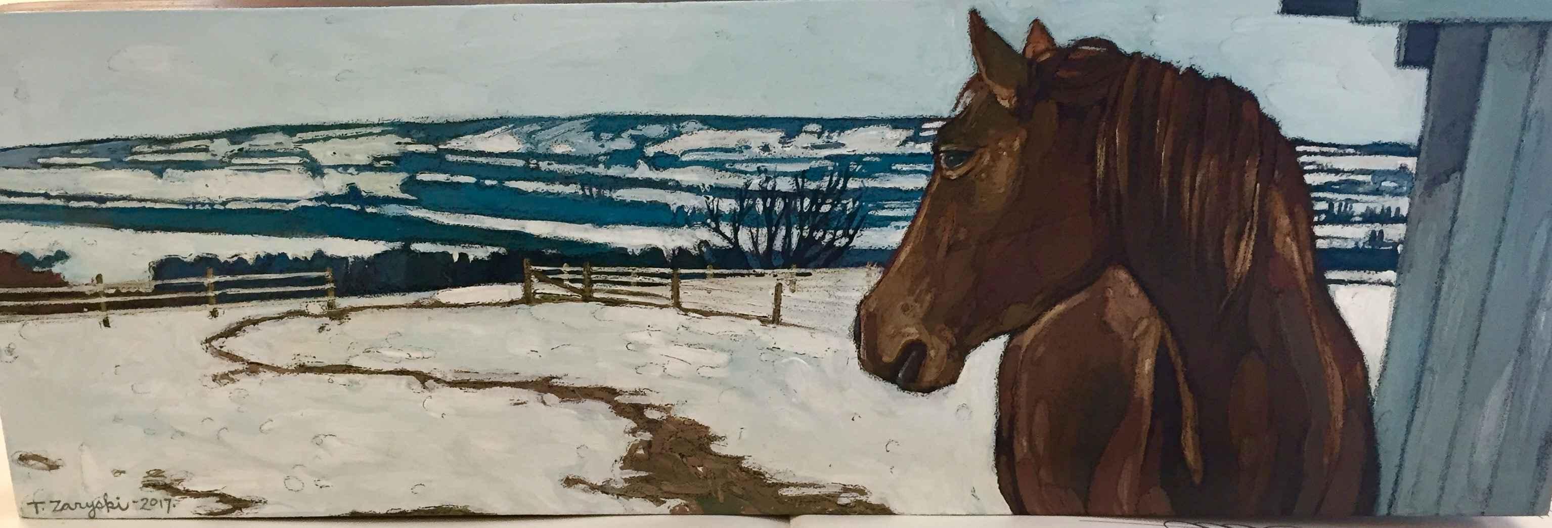 Waiting For Spring by  Tanya Zaryski - Masterpiece Online