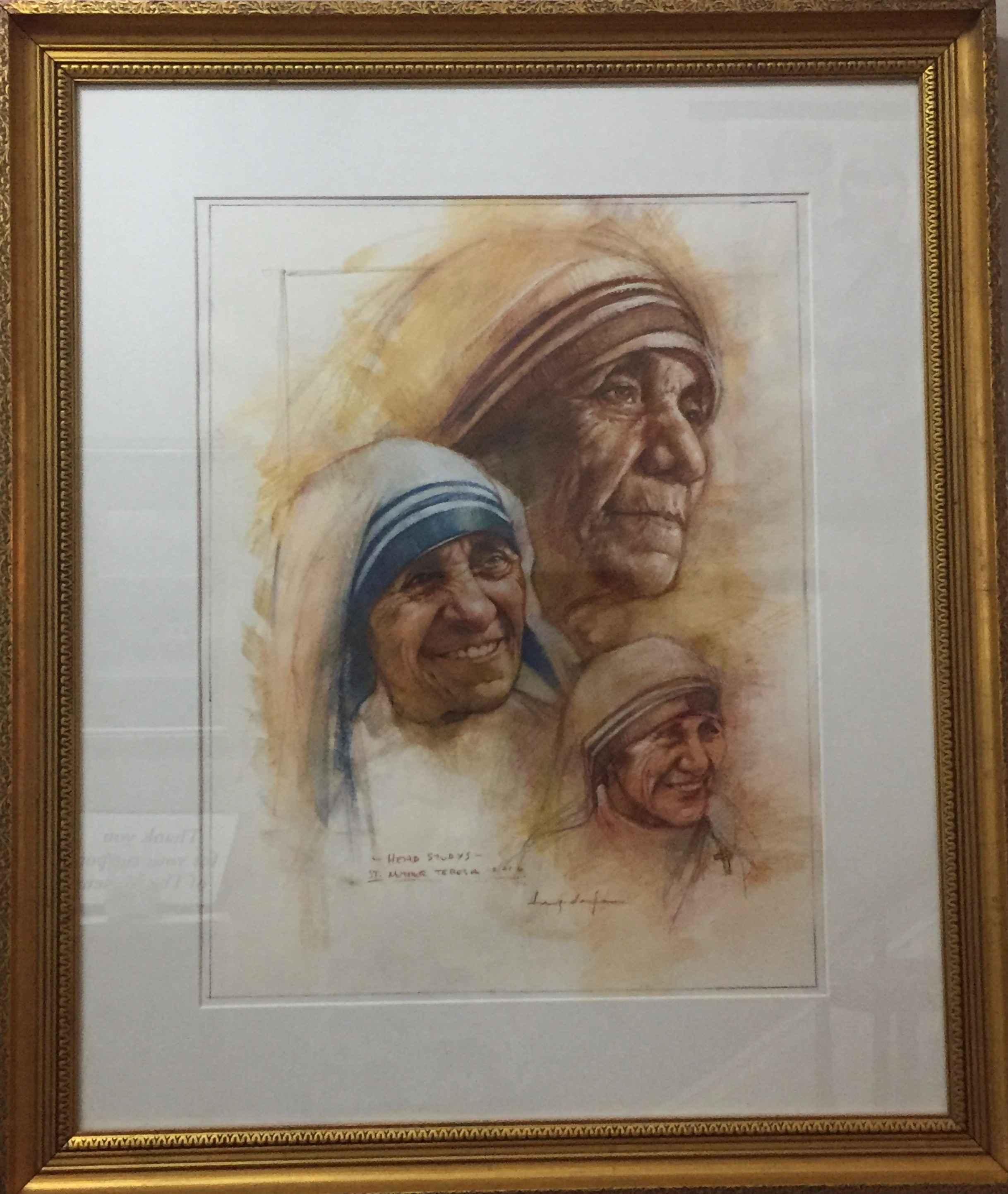 Mother Teresa (Head S... by  Tim Langenderfer - Masterpiece Online