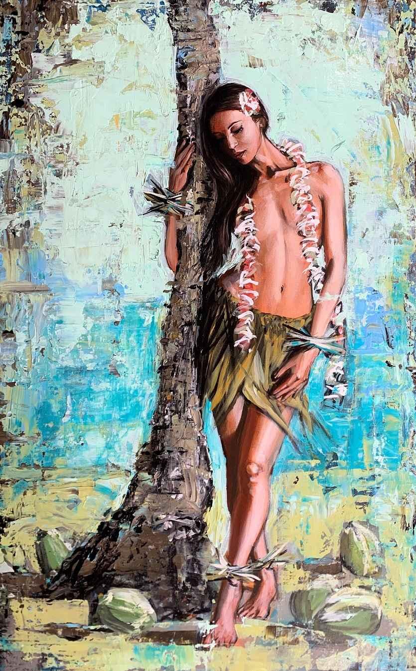 Palm Wahine by  Shawn Mackey - Masterpiece Online