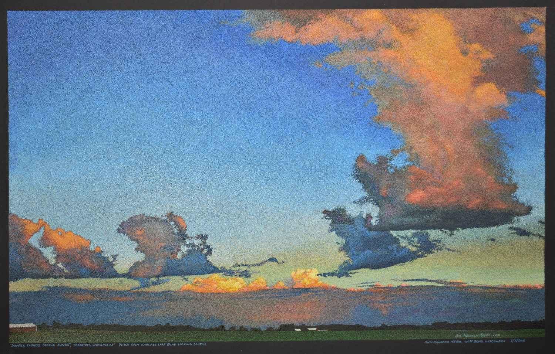 Summer Clouds at Suns... by Ms. Ann Meyer - Masterpiece Online