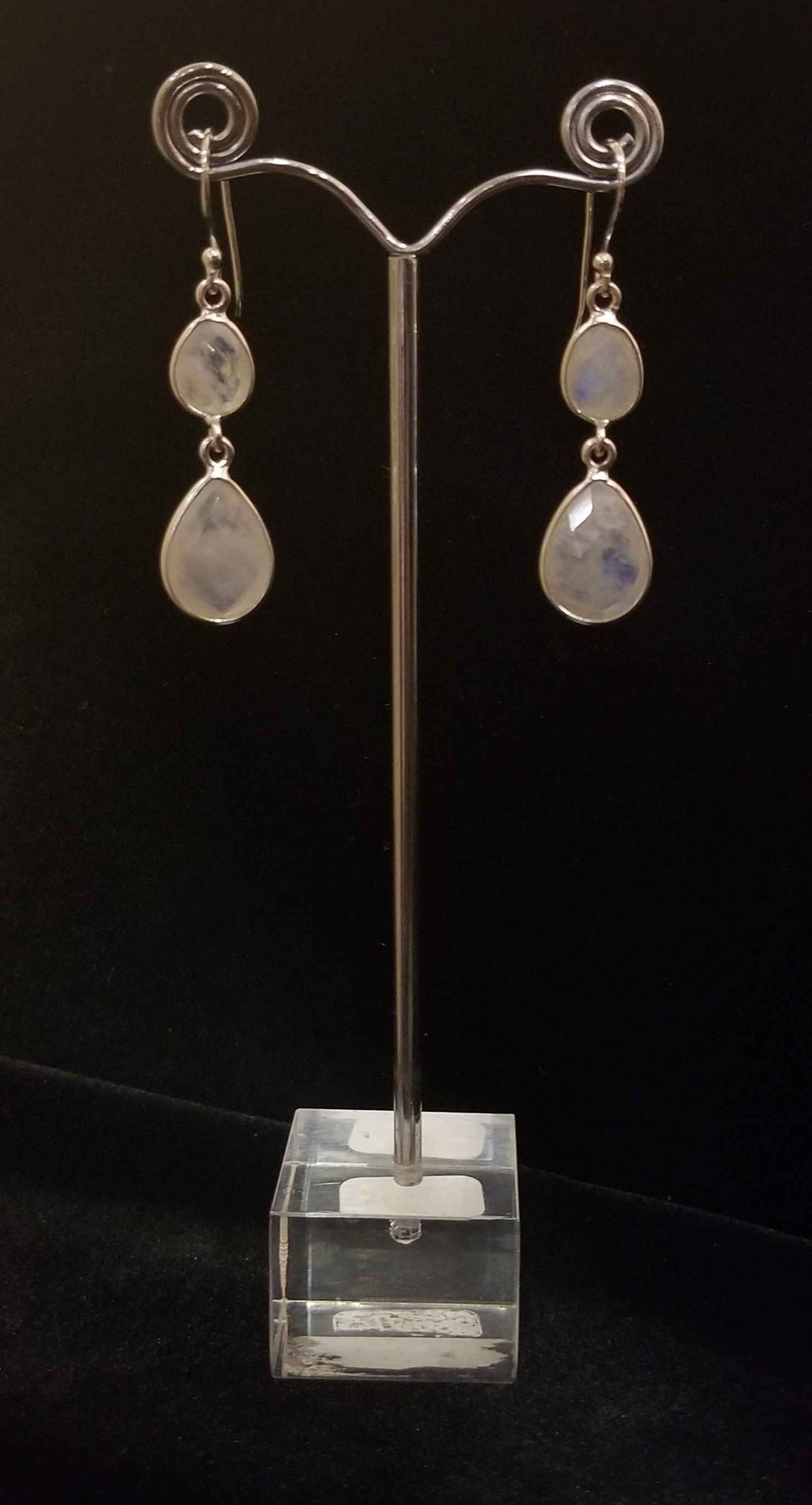 Earrings - Moonstone ... by  Gallery Pieces - Masterpiece Online