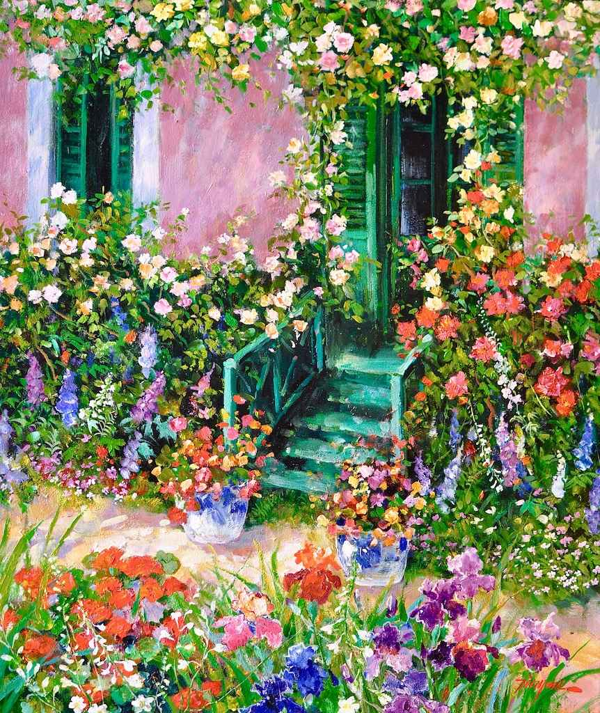 Monet's House in Give... by  Tinyan Chan - Masterpiece Online