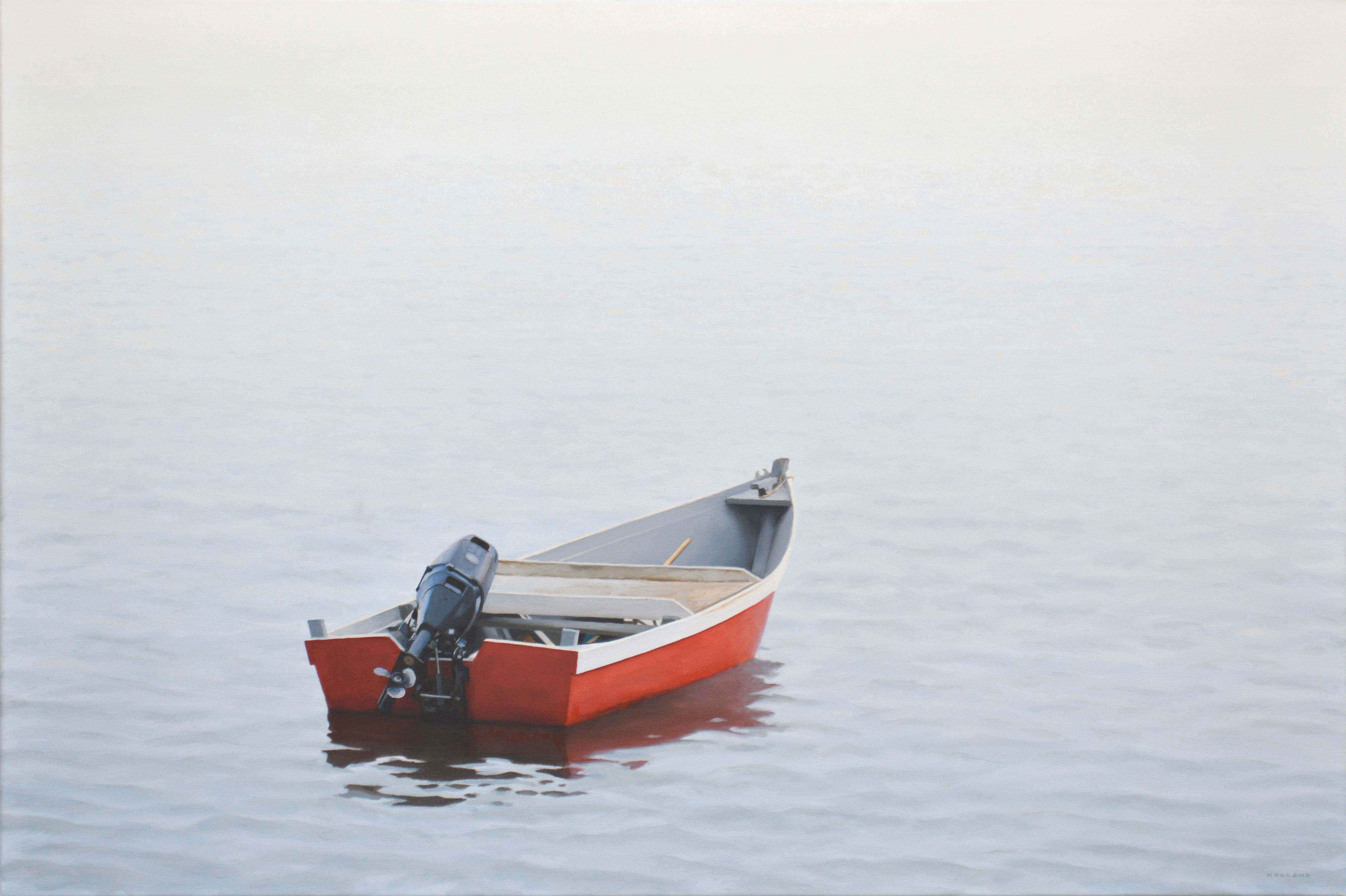 Skiff and Fog by  Jim Holland - Masterpiece Online