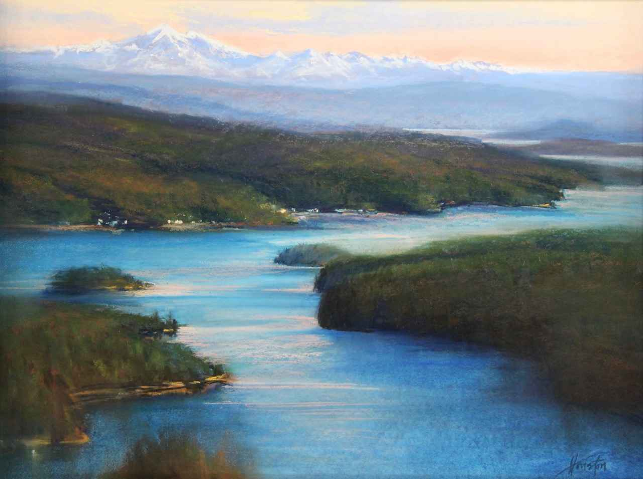 Path to Mt. Baker by  Amanda Houston - Masterpiece Online
