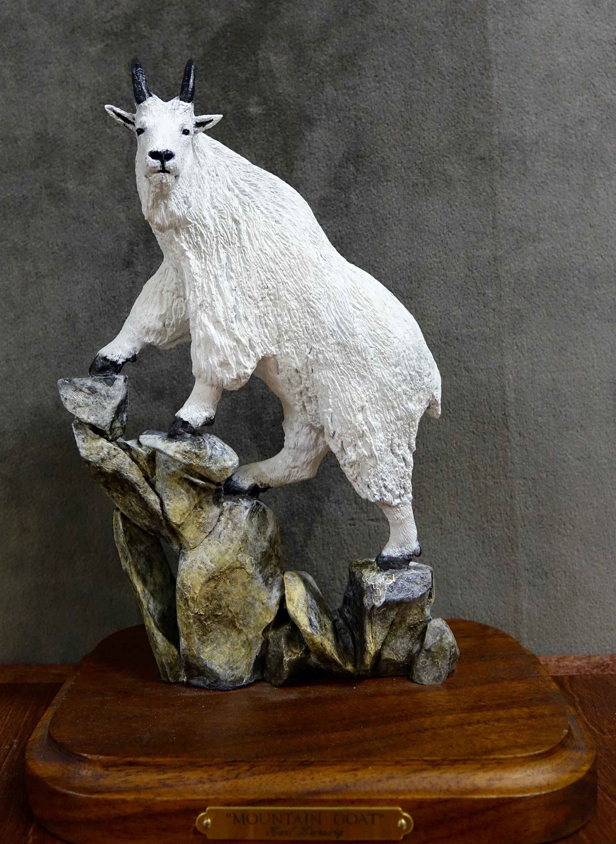 Mini's-Mountain Goat ... by  Karl Lansing - Masterpiece Online