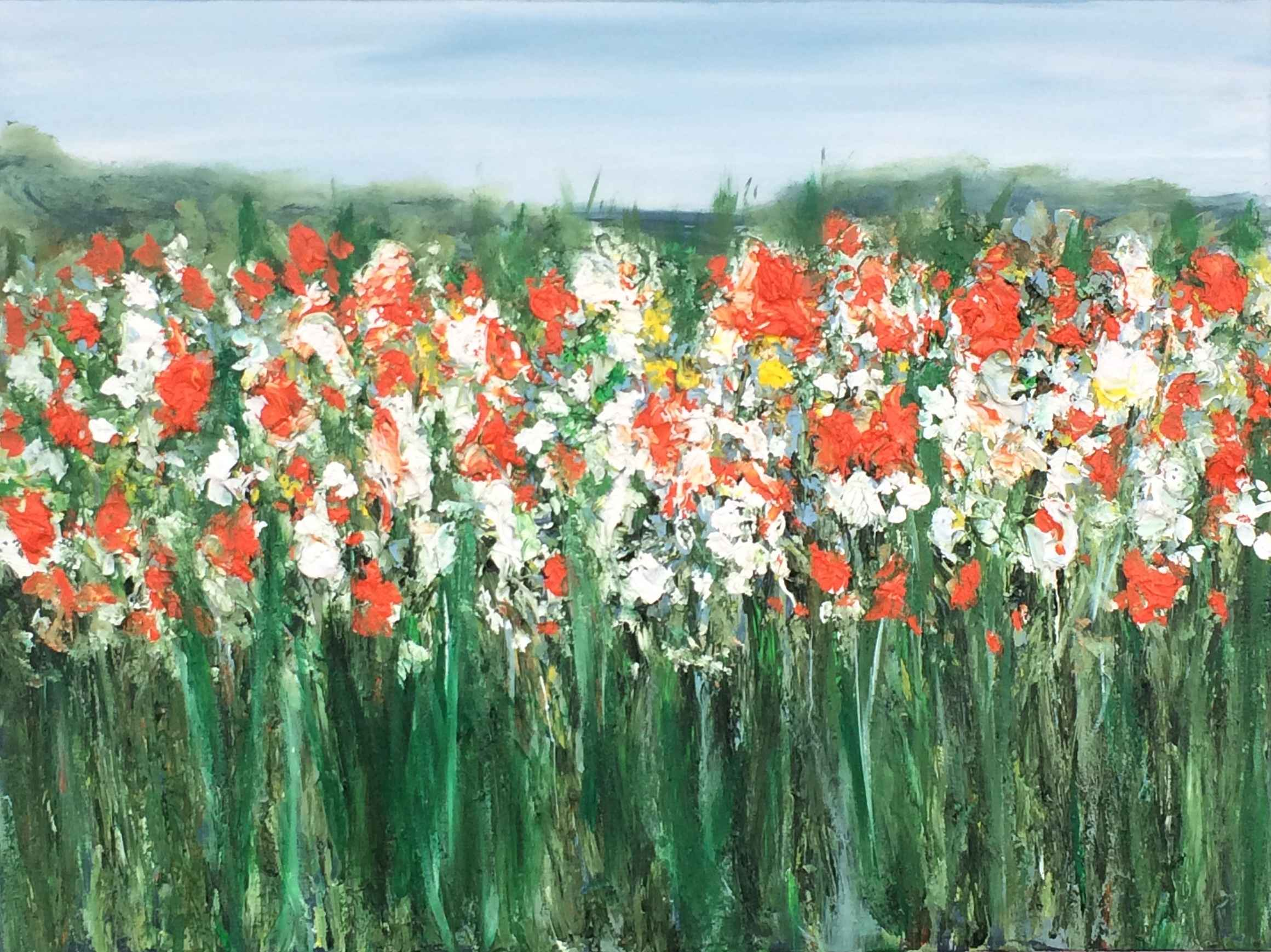 Summer Garden #2 by  Steve Lyons - Masterpiece Online